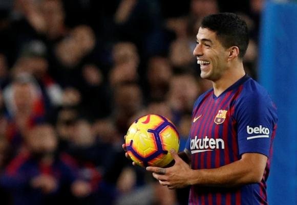 Luis Suárez en el Clásico