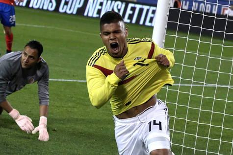 Cucho hernandez colombia debut