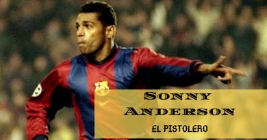Sonny Anderson pistolero
