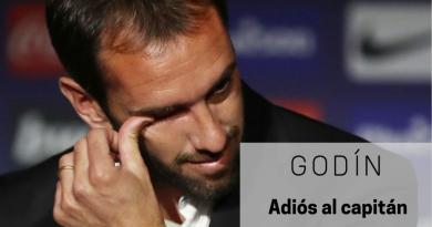 godín, adiós al atlético de madrid