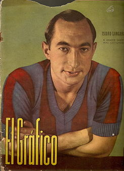 isidro langara, mejor promedio goleador de La Liga