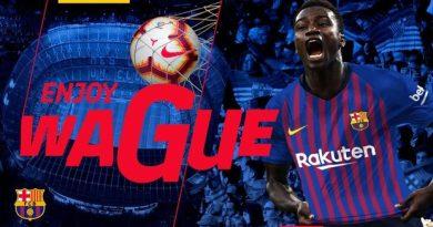 Moussa Wagué FC Barcelona