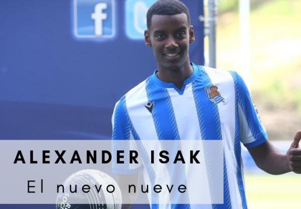 Alexander Isak Real Sociedad